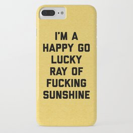 Ray Of Sunshine Funny Quote iPhone Case