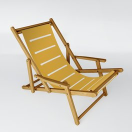 organic / yellow Sling Chair