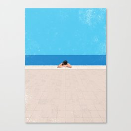 Pool 4 Canvas Print