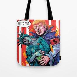 HELLO USA Tote Bag