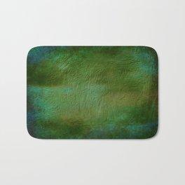 Shades of Deep Green Texture Bath Mat