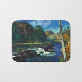 "George Wesley Bellows ""Mill Dam"" Bath Mat"