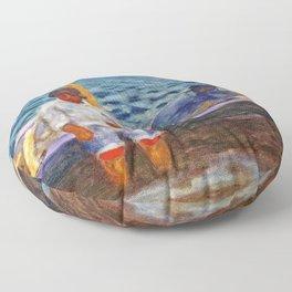 Fishermen - Digital Remastered Edition Floor Pillow