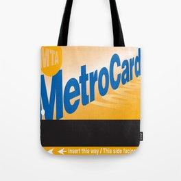 MetroCard Tote Bag