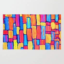 """""""Building a Colorful World"""" Rug"""
