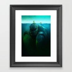 Lonely Island Framed Art Print
