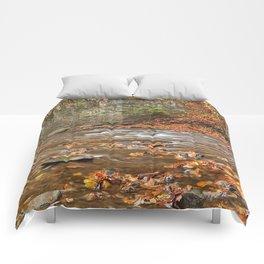 Rustic Fall Creek Comforters