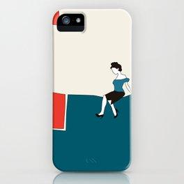 Sitting iPhone Case