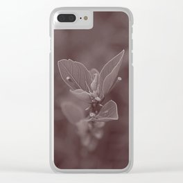 Little plant Clear iPhone Case