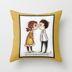 That Was That (version2)  by Diane Duda Throw Pillow
