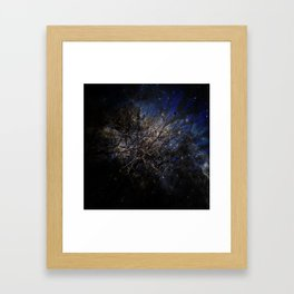The Universe within you Framed Art Print