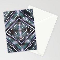 Ice Storm Dark Stationery Cards