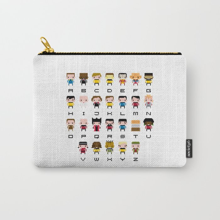 Pixel Star Trek Alphabet Carry-All Pouch