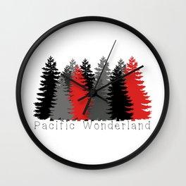 Pacific Wonderland Wall Clock
