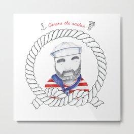 Omero il marinaio Metal Print