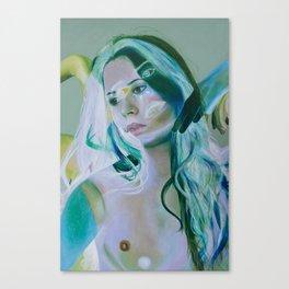 Innocence Verde Canvas Print