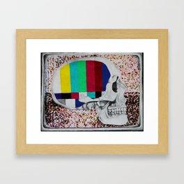 Fused Framed Art Print