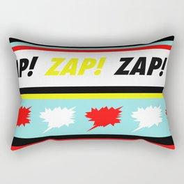 Comic Pattern  - Pop Art Design Rectangular Pillow