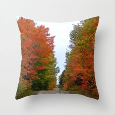 Seeing Red and Loving it Throw Pillow