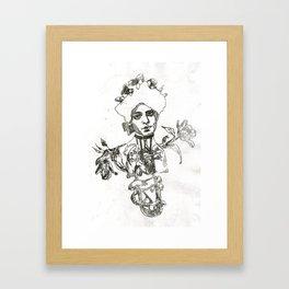 Bronchial tubes Framed Art Print