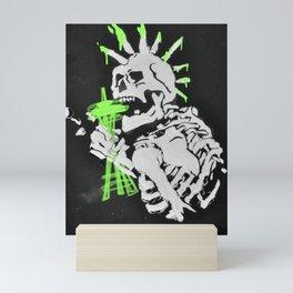 Seattle Skelly Mini Art Print