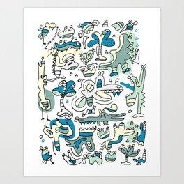 The Ghost Who Walk Art Print