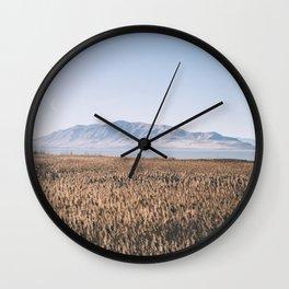 Utah Lake Wall Clock