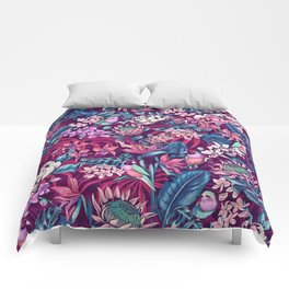 Stand Out! (ultraviolet) Comforters