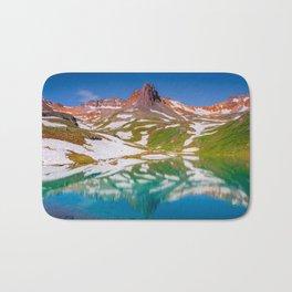 Ice Lake Bath Mat