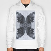 moth Hoodies featuring Moth  by Ali Prentice