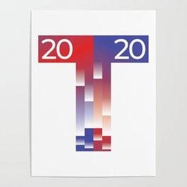 MAGA Presidential Election 2020 Trump USA T Poster