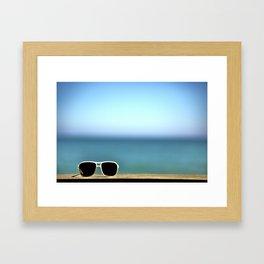 Summer Sunglasses Framed Art Print