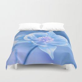 Columbine Flower 161 Duvet Cover