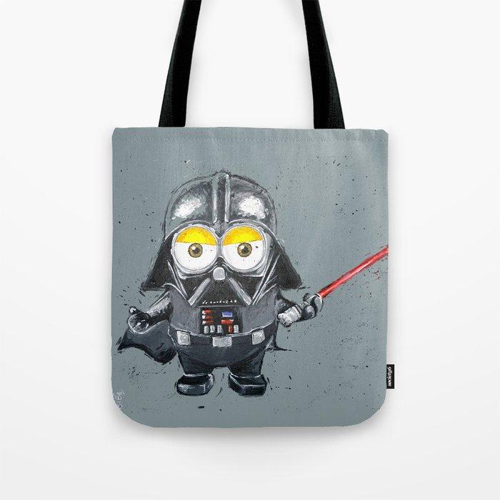 Darth Vader minion style Tote Bag