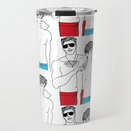 Call Me By Your Name: Oliver and Elio Travel Mug