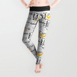 Minion - banana Leggings