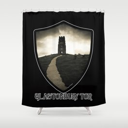 Dark Tor - Glastonbury Shower Curtain