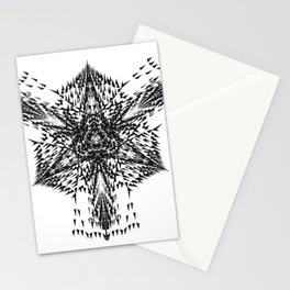 Release The Bats Stationery Cards