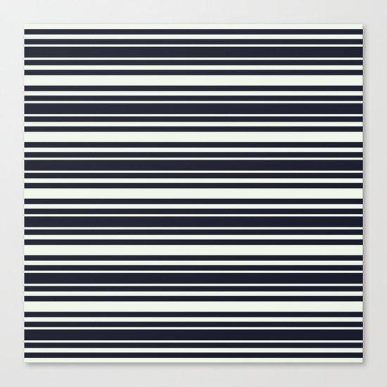 Tisker Black & White Canvas Print