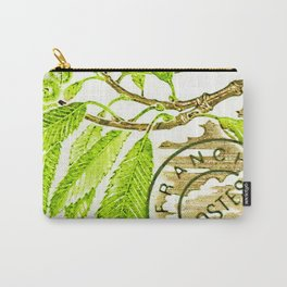 Branch of a chestnut tree in Summer Carry-All Pouch