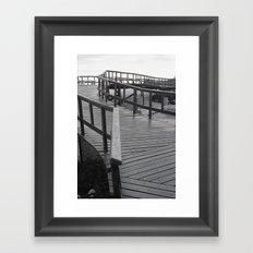 -Z- Framed Art Print