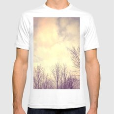 Her Bare Branches Waited for Spring Mens Fitted Tee White MEDIUM