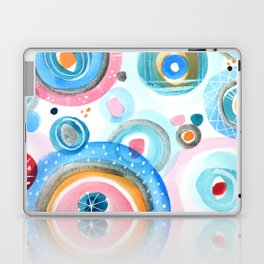Bubbly Confetti Laptop & iPad Skin
