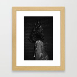 Up high Framed Art Print