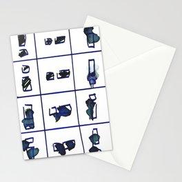 24 matchsticks Stationery Cards