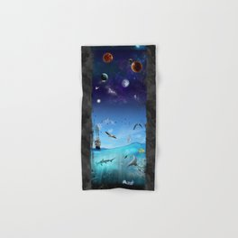 Connected Hand & Bath Towel