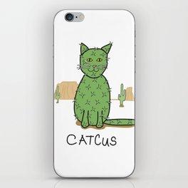 """""""Catcus"""" Cactus iPhone Skin"""