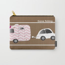 Glamping sweet style with vintage camper. Carry-All Pouch