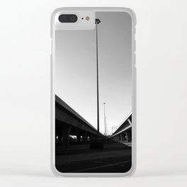 City veins Clear iPhone Case
