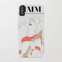 haim iPhone & iPod Cases featuring Danielle Haim by chazstity